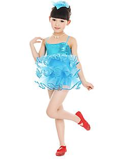 Должны мы балетные платья детского исполнения тюль цветок (ы) платье