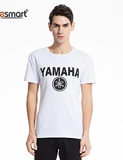 Lesmart® Men's Cotton  Printed Short Sleeve T-shirts