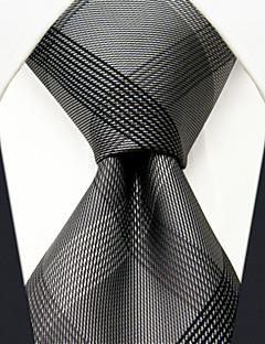 עניבת צווארון משי כל העונות וינטאג' חמוד מסיבה עבודה יום יומי גברים