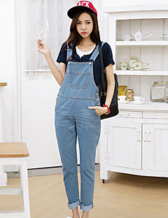 billige Outlets-Dame Sexet Mikroelastisk Jeans Bukser Alle årstider