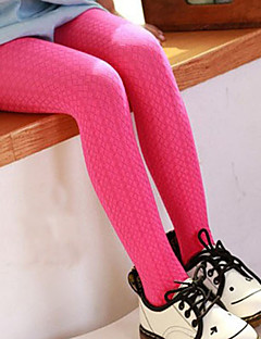 Girl's Candy Color Leisurely Summer/Spring/Fall Micro-elastic Thin Leggings (Polyester)