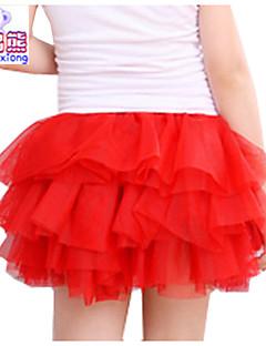 Waboats Winter Kids Girls Yarn Solid Mini Tutu Dress