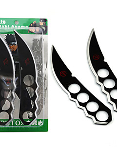 billige Videogame Cosplay Tilbehør-Våpen Inspirert av Naruto Cosplay Anime Cosplay-tilbehør Våpen Legering Herre Varmt Halloween-kostymer