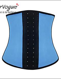 baratos Ponta de Estoque-Mulheres Colchete Sem Busto Jacquard Modal Elastano Azul