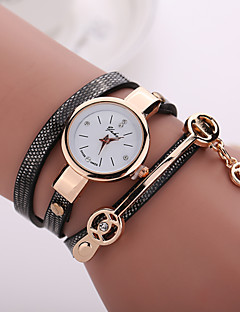 New Fashion  Women Dress Wristwatch Vintage Quartz Analog Watch Strap Watch New Bracelet Quartz  PU Wrist Watch Cool Watches Unique Watches
