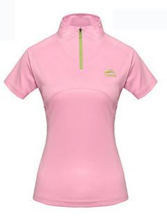 Damen T-Shirt für Wanderer Wasserdicht Rasche Trocknung UV-resistant Atmungsaktiv Außen Trainingsanzug Wasserdicht Regen Proof für