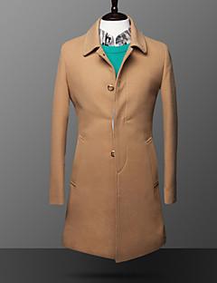 ieftine Îmbrăcăminte Bărbați de Exterior-Bărbați Haină Trench Paltoane / Jachete Șic & Modern-Mată