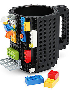 tuğla blok kahve çay içecek kupa bardağı yaratıcı komik kupa coofee fincan bloklar kupa inşa