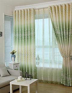 billige Gardiner-Stanglomme Propp Topp Fane Top Dobbelt Plissert Blyant Plissert To paneler Window Treatment Moderne Designer Europeisk Barokk Rokoko