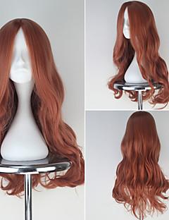 cheap Anime Cosplay-Cosplay Wigs Love Live Cosplay Orange Medium Anime Cosplay Wigs 63 CM Heat Resistant Fiber Female