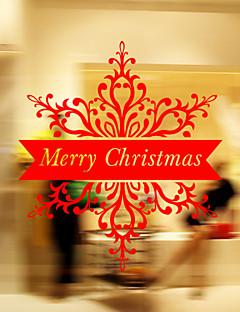 christmas dekorasyon duvar çıkartmaları pencere çıkartmalar tatil Noel Baba süsler yılbaşı ağaçları çanları