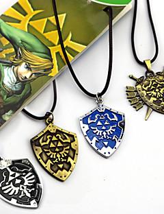 billige Videospill cosplay-Smykker Inspirert av The Legend of Zelda Cosplay Anime / Videospill Cosplay-tilbehør Halskjeder Legering Herre Dame