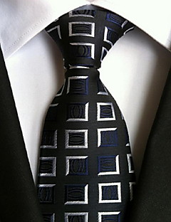 Men's Polyester Neck Tie,Vintage Cute Party Work Casual Print All Seasons Rainbow