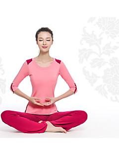 billige -Yoga & Dansesko Klessett Fort Tørring Pustende Komprimering Lettvektsmateriale Stretch Drakter Dame Yoga & Danse Sko