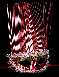 Engel & Demon Maske Maskerade Unisex Halloween Karneval Festival/høytid Halloween-kostymer Ensfarget