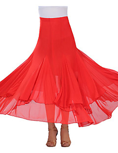 cheap New Arrivals-Ballroom Dance Tutus & Skirts Women's Performance Crepe Draping Skirt