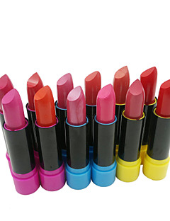 billiga Läppar-Sminkredskap Läppstift 24 pcs Fuktig Fukt Smink Kosmetisk Dagligen Skötselprodukter