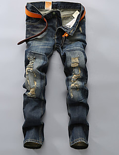 New design popular style beggars jeans men Plus size fashion Pants biker denim trousers hip hop jeans