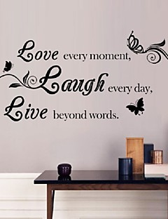 Sales Promotion Live Love Laugh Letters Transprent Waterproof Vinyl Wall  Quotes Decal/PVC Home Part 95