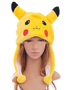 billige Videospill cosplay-Hatt / Lue Inspirert av Pocket Little Monster PIKA PIKA Anime / Videospill Cosplay-tilbehør Hatt polyester Herre / Dame Halloween-kostymer