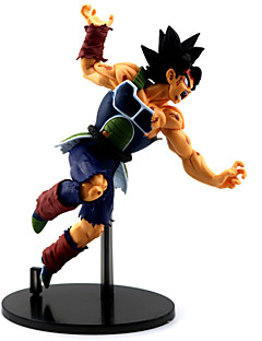 billige Anime cosplay-Anime Action Figurer Inspirert av Dragon Ball Son Goku PVC 23 CM Modell Leker Dukke