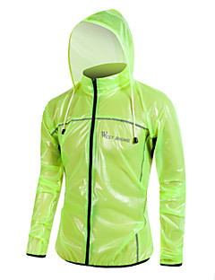 cheap Cycling Jackets-WEST BIKING® Unisex Cycling Jacket Green / Blue / Dark Gray Solid Colored Bike Raincoat / Jersey / Windbreaker Waterproof, Thermal /