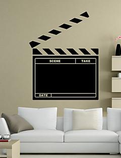 ieftine Acțibilduri de Tablă-Peisaj Romantic Tablă de scris cu creta Modă Forme Vacanță Cuvinte & Citate Desene Animate Fantezie Perete Postituri Acțibilduri de Tablă