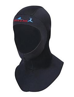Dive & Sail® Dame Herre Unisex 3mm Dykkerhetter Hold Varm Ultraviolet Motstandsdyktig Neopren Dykkerdrakt Dykkerdrakter Hatt-Svømming