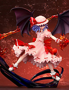 billige Anime cosplay-Anime Action Figurer Inspirert av Touhou Projekt Cosplay PVC 10 CM Modell Leker Dukke