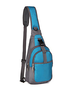 cheap Bike Bags-Bike Bag Shoulder Bag Quick Dry Compact Bicycle Bag 1680D Polyester Cycle Bag Cycling / Bike Traveling