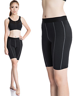 Women's Running Shorts Quick Dry Compression Sweat-wicking Compression Clothing Tights Leggings Bottoms for Yoga Exercise & Fitness