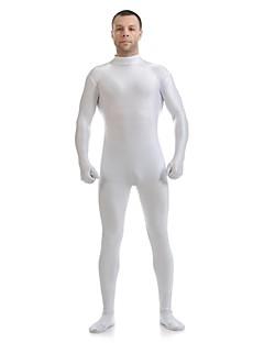 חליפות Zenta Morphsuit Ninja Zentai תחפושות קוספליי לבן אחיד /סרבל תינוקותבגד גוף Zentai חליפת חתול ספנדקס לייקרה יוניסקסהאלווין (ליל כל