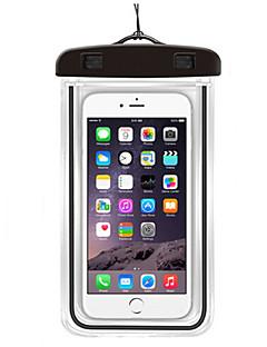 billige Tørposer & Tørbokse-Tørtaske / Mobiltelefonetui for Samsung Galaxy S6 / iPhone 6s / 6 / iPhone 6 Plus Letvægt / Vandtæt / Lysrør 6inch PVC