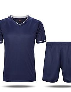 preiswerte -Herrn Fußball Hemd + Kurzschlüsse Kleidungs-Sets/AnzügeAtmungsaktiv Rasche Trocknung Feuchtigkeitsdurchlässigkeit Hohe Atmungsaktivität