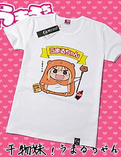 """billige -Inspirert av Himouto Cosplay Anime  """"Cosplay-kostymer"""" Cosplay T-skjorte Trykt mønster Kortermet T-Trøye Til Unisex"""