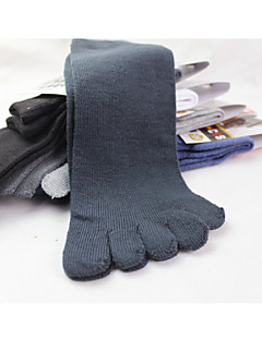 Toe Socks Hiking Socks Anti-skidding/Non-Skid/Antiskid Sweat-wicking for Yoga