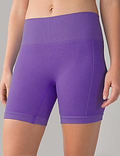 Mulheres Shorts de Corrida Secagem Rápida Permeável á Humidade Alta Respirabilidade (>15,001g) Respirável Redutor de Suor Compressão