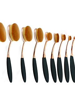 10 Lippenkwast / Concealerkwast / Poederkwast / Foundationkwast / Andere kwasten / Contour Brush / Brush Sets / BlushkwastSynthetisch