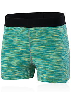 billiga Träning-, jogging- och yogakläder-Dam Joggingshorts / Tätsittande träningsshorts - Röd, Grön, Blå sporter Shorts Sportkläder Snabb tork, Andningsfunktion