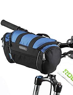 ROSWHEEL 自転車用バッグ自転車用フロントバッグ ショルダーバッグ 防水ファスナー 防湿 耐衝撃性 耐久性 自転車用バッグ ポリ塩化ビニル 600Dポリエステル サイクリングバッグ Samsung Galaxy S6 サイクリング