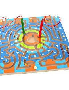 자석 장난감 조각 25*15 MM 자석 장난감 미로&순차 이동 퍼즐 미로 집행 장난감 퍼즐 큐브 선물