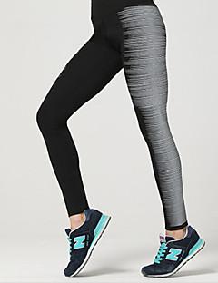 billiga Träning-, jogging- och yogakläder-Dam Baslager / Tights för jogging / Gymleggings sporter Elastan Byxa Sportkläder Snabb tork, Andningsfunktion, Mjuk Elastisk