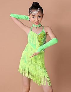sopiiko Latinalainen tanssi mekot lapsille lapsi tanssi puvut