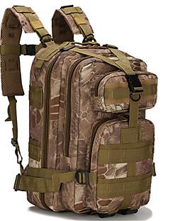billiga Ryggsäckar och väskor-Rongjing 25L Ryggsäckar - Fuktighetsskyddad, Bärbar, Multifunktionell Utomhus Camping, Klättring oxford Svart, Grön, kamouflage Brun
