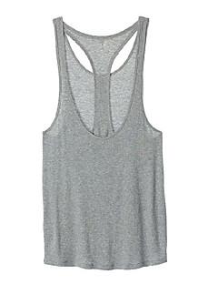 ヨガ トップス 高通気性 ソフト 伸縮性 スポーツウェア ヨガ ピラティス ランニング 女性用 ホワイト グレー