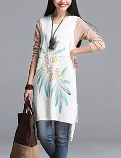 Women's Daily Street chic Loose Thin Sweater Dress