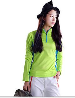 tanie Koszulki turystyczne-SPAKCT Damskie T-shirt turystyczny Na wolnym powietrzu Szybkie wysychanie, Odporność na promieniowanie UV, Oddychający Topy / Zestawy odzieży Fitness / Elastyczny