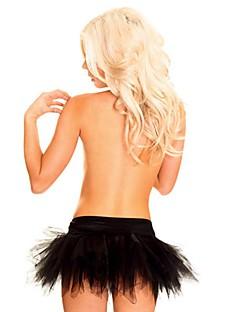 Feminino Sem Busto / Com Busto / Vestido com Corset / Tamanhos Grandes Não Especificado Renda / Náilon / Poliéster Feminino