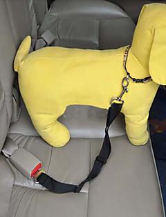 halpa -Koira Talutushihnat Turvavyö Turvallisuus Autoon Säädettävä Nylon Musta Purppura Punainen Sininen Pinkki