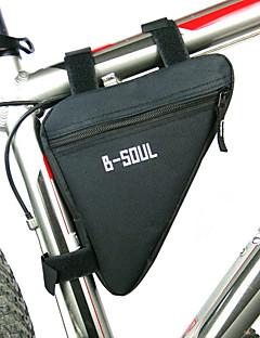 B-SOUL 自転車用バッグ自転車用フレームバッグ 防水ファスナー 防湿 耐衝撃性 耐久性 自転車用バッグ ポリエステル ポリ塩化ビニル テリレン サイクリングバッグ サイクリング